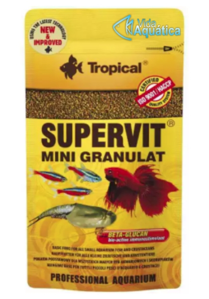 Tropical Supervit Mini Granulat Zip Lock Sache 10g