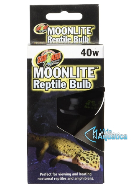 Zoomed Moonlite Reptile Bulb 40w ML-40